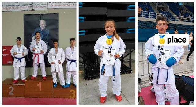 Νέες επιτυχίες του συλλόγου black belt shotokan κarate igoumenitsas