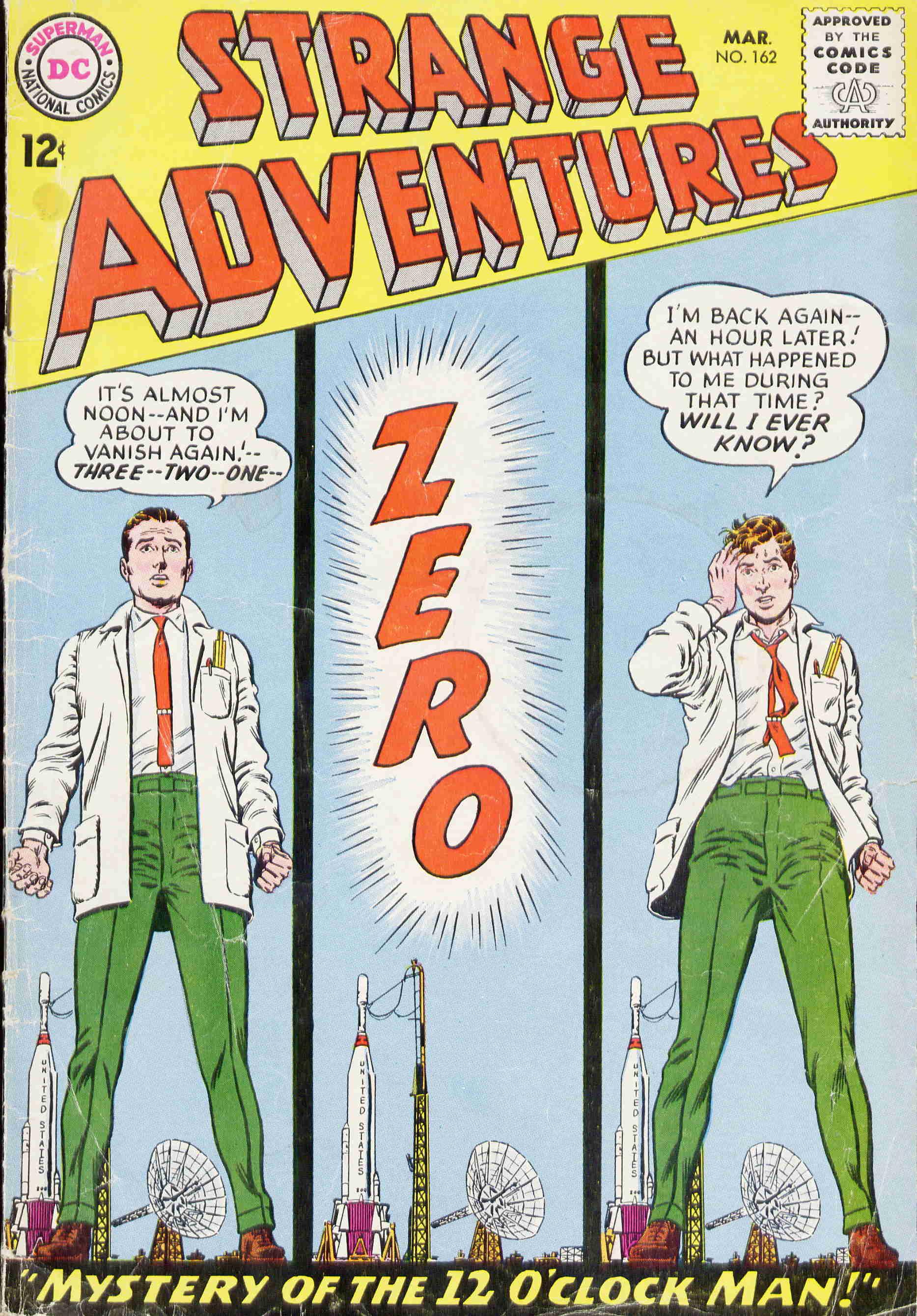 Strange Adventures (1950) issue 162 - Page 1
