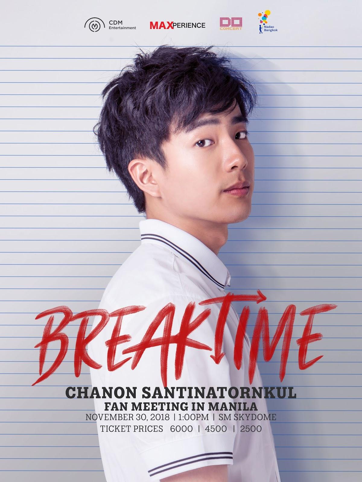 Bad Genius Star Chanon Santinatornkul is Coming to Manila
