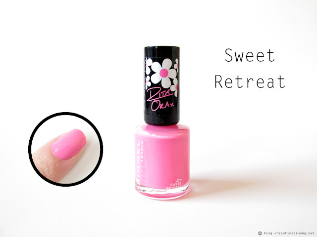 270 Sweet Retreat - Rimmel London 60 Seconds Super Shine Nail Polish by Rita Ora Collection