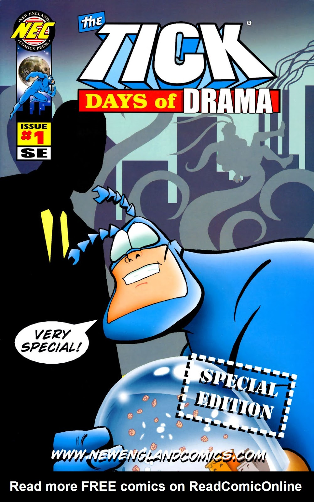 Read online The Tick: Days of Drama comic -  Issue #1 - 2