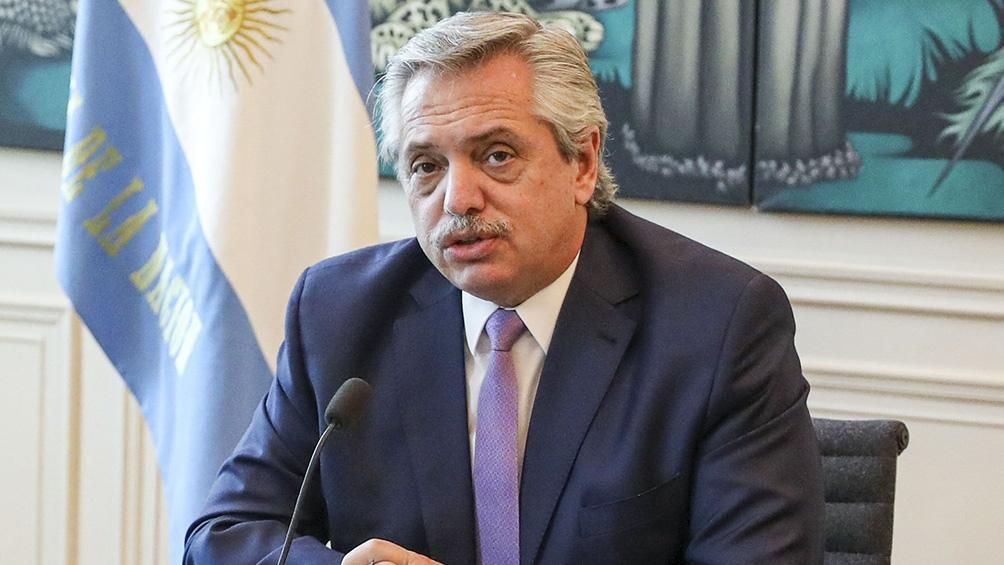 Alberto Fernández: Salir de la cuarentena ya es llevar a la muerte a miles de argentinos