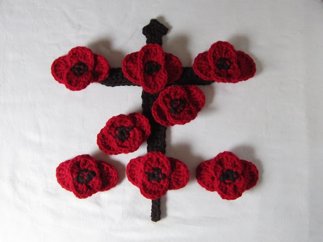 Z Special Unit crochet tribute by Crochet is the Way #LestWeForget