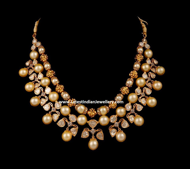 Nizam jewellery Polki Necklace