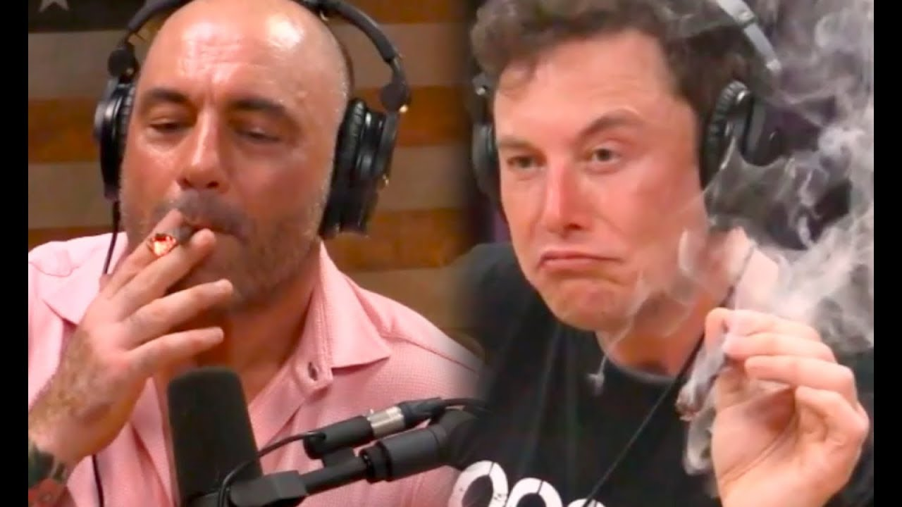 Epic Interview: Elon Musk Smoking A Joint With Joe Rogan