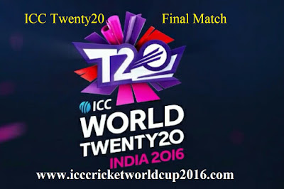 ICC Twenty20 Final Match Live