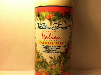 Crazy Food Dude Review Walden Farms Creamy Italian Salad