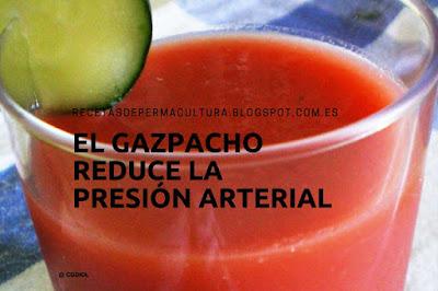 El Gazpacho reduce la Presión Arterial