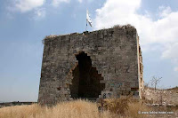 Israel Travel Guide:Remnants of Khan Qira wa Qamun (Yokneam), Pictures