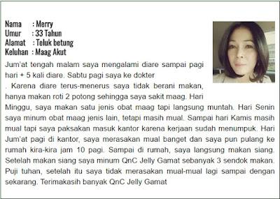 Testimoni QnC Jelly Gamat Untuk Asam Lambung