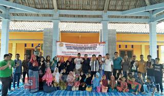 Bina Karya Jelu Bersama  Aliansi Pita Merah dan Karang Taruna Kabupaten Bojonegoro Adakan Sosialisasi HIV-AIDS