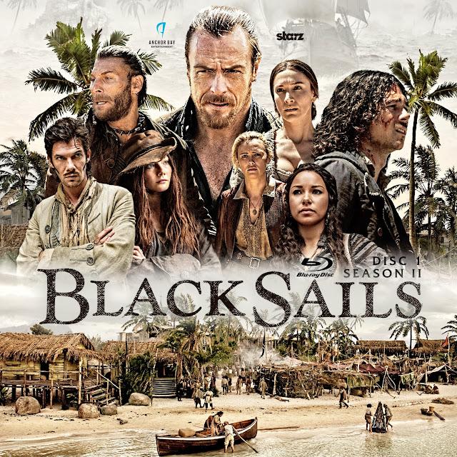 Black Sails Season 2 Disc 1 Bluray Label