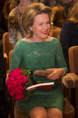 Queen Mathilde Style, Dresses, Jewelry, Earrings