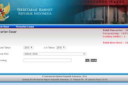 Cara Mencari Perpu, Perpres Dan PP Tentang Guru di Situs Setkab Republik Indonesia