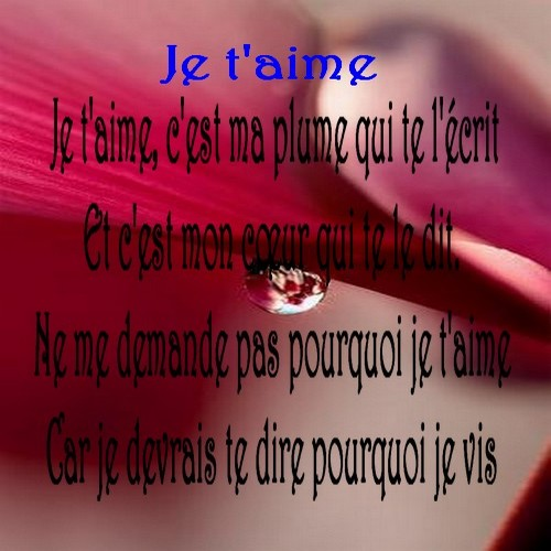 poeme rencontre amoureuse