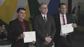 Aclamados pelo povo: Prefeito Olivânio e Lucas Marques são diplomados em Picuí