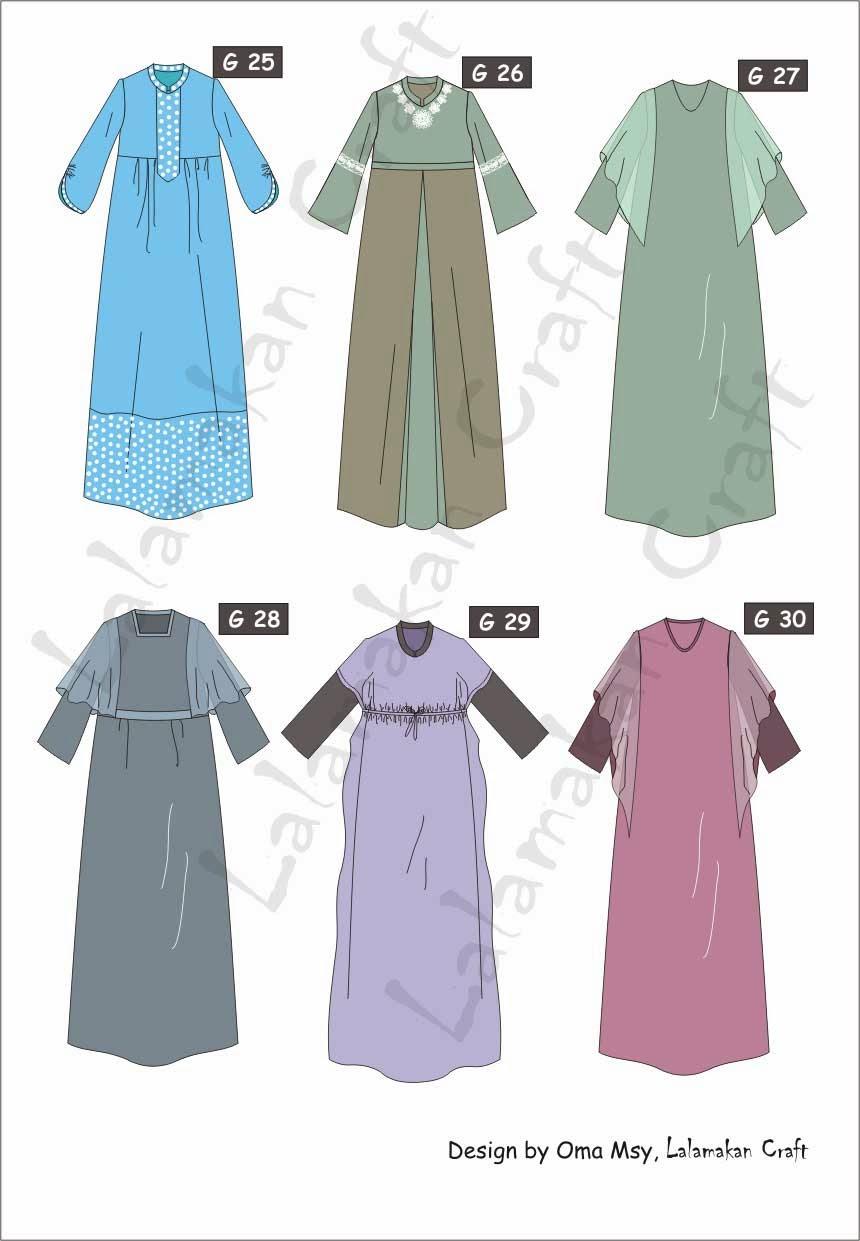 Contoh Aplikasi Desain Baju Gamis  10desainer