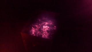 мангал в темноте