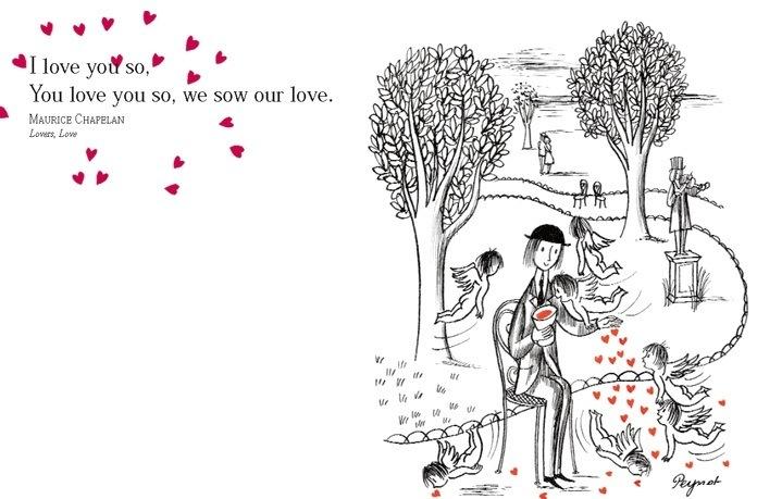 InsiderStyle: Valentine's Perfect Present: Peynet, Poetry