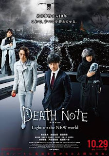 Sinopsis Death Note: Light Up The New World