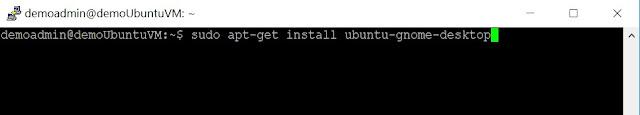 Install Gnome Server