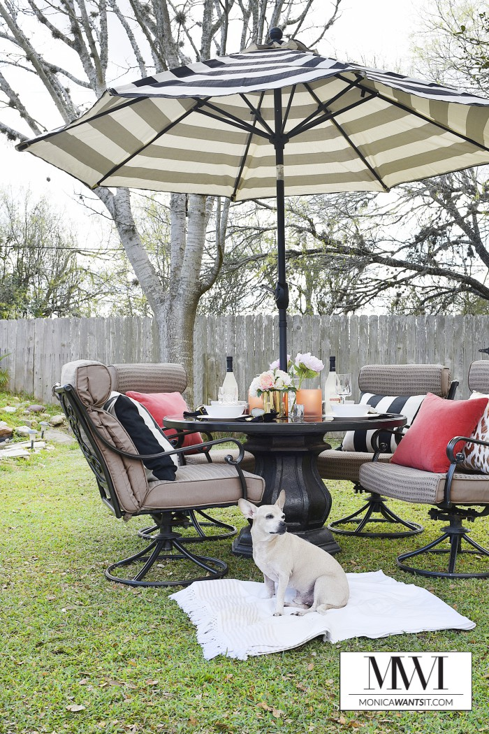 Nice This blogger spent and created a gorgeous outdoor oasis perfect for dining and entertaining