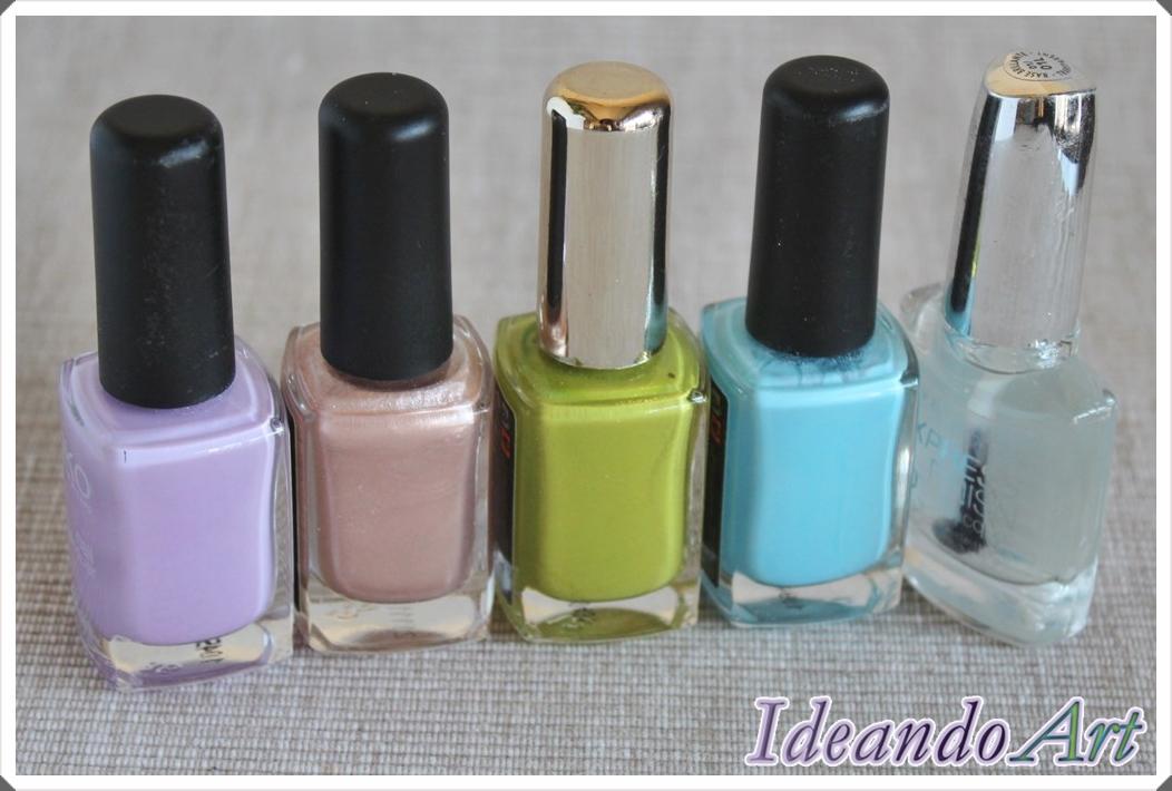 Colores pintauñas