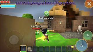 Sebuah game yang unik dengan tema petualangan survival dan bangun membangun yang kreatif Portal Knights apk + obb