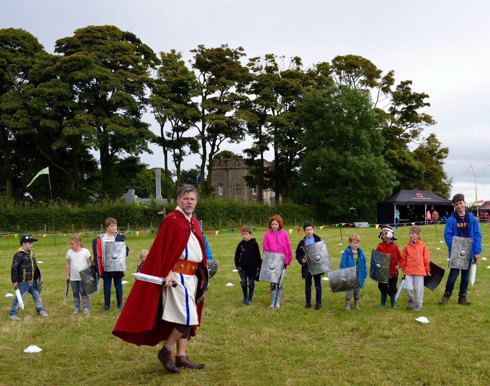 Hadrian's Wall Live 2016 | Birdoswald Roman Fort & Housesteads - A Review - roman army training