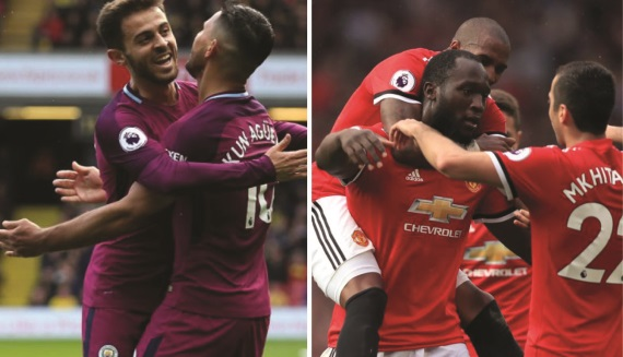 The Manchester clubs have impressed in the Premier League this season