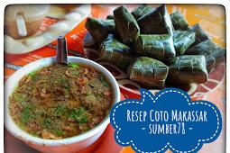 Resep coto makassar nusantara khas Sulawesi - sumber78.com