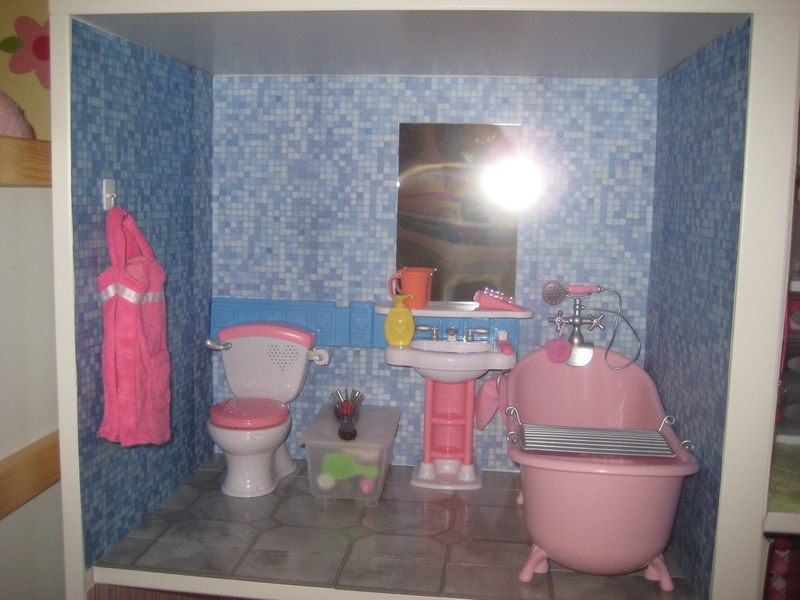 18 Inch Doll Bathroom