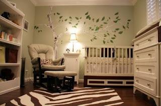 Idea de cuarto de bebé