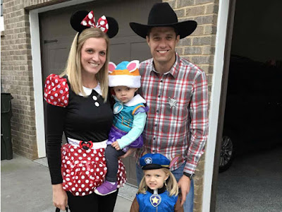 Paw Patrol, Mini Mouse, and Woody are ready for some tricks  and treats, says #NASCAR Driver David Ragan.