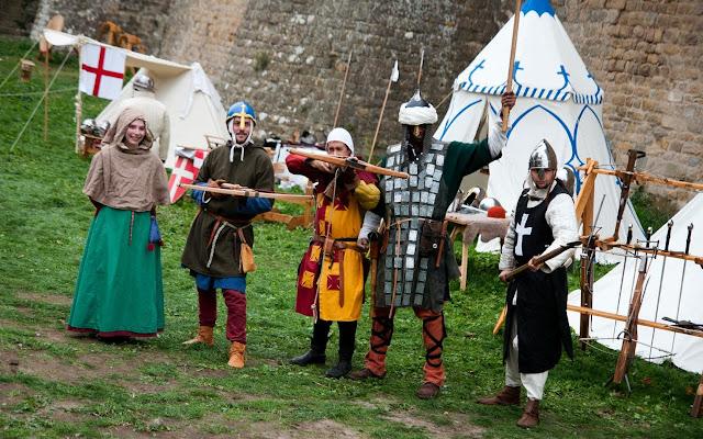 Carcassone fiesta medieval