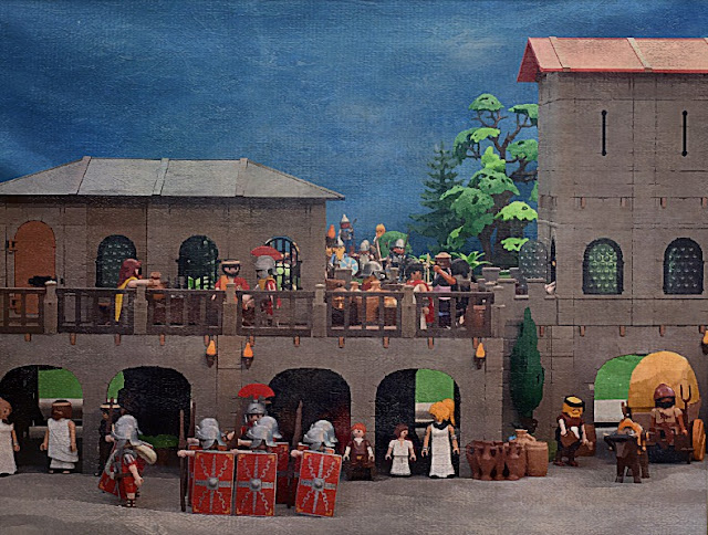 Playmobil Custom Ancient Rome Diorama