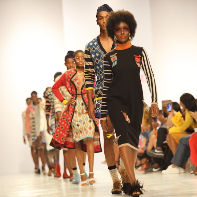 the knitwear collection of Makhosa by Laduma