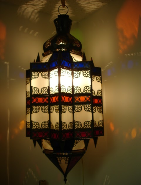 moroccan decor: moroccan lanterns and lamps part 15