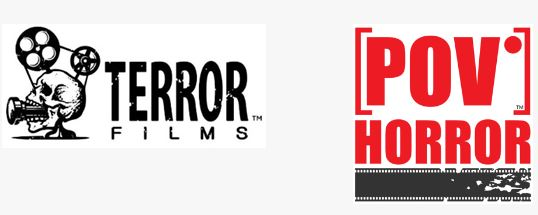Terror Films and POV Horror Logos