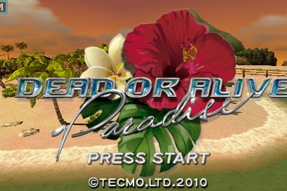 Get Free Download Game Dead or Alive Paradise for Computer PC or Laptop