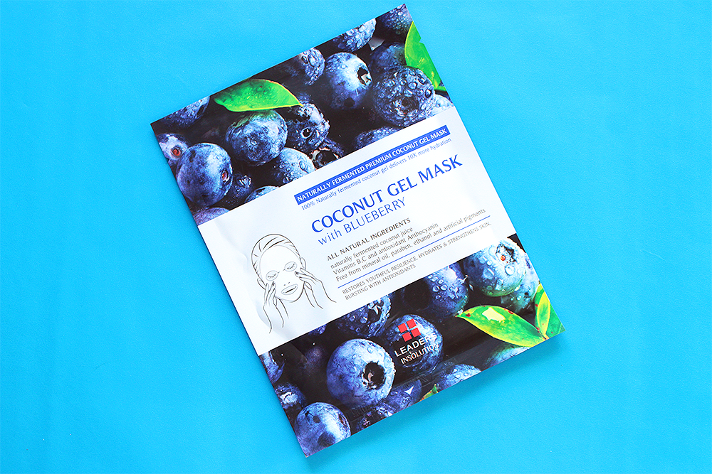 Leaders Insolution Superfood Coconut Gel Blueberry Mask review
