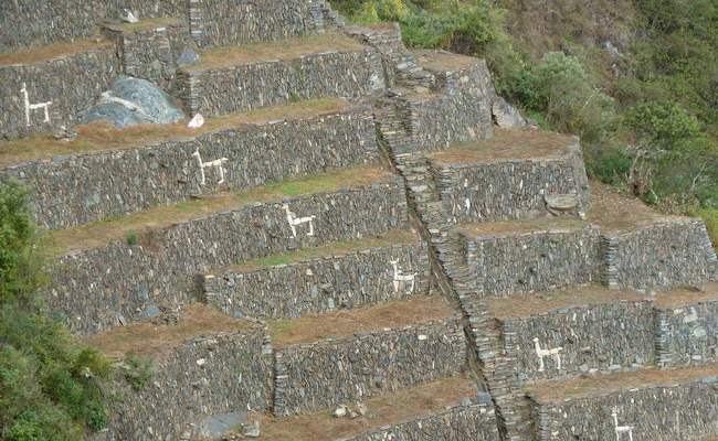Xvlor Choquequirao is complex of urban ruins built by Emperor Pachacuti