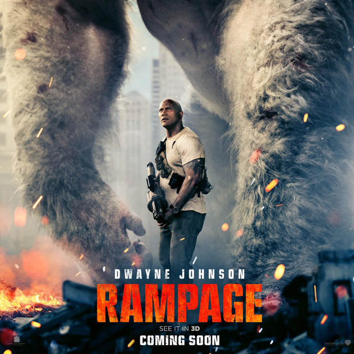 Movies: Rampage Movie HD Wallpapers Download 1080p