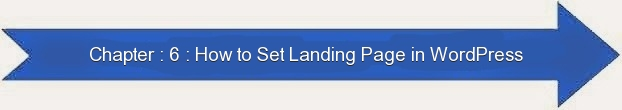 Next: How to Set Landing Page in WordPress