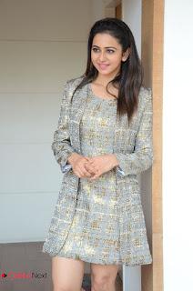 Actress Rakul Preet Singh Latest Picture Gallery in Short Dress  0123