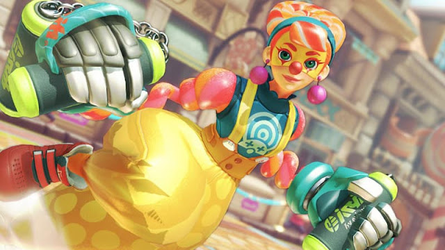 nintendo arms lola pop