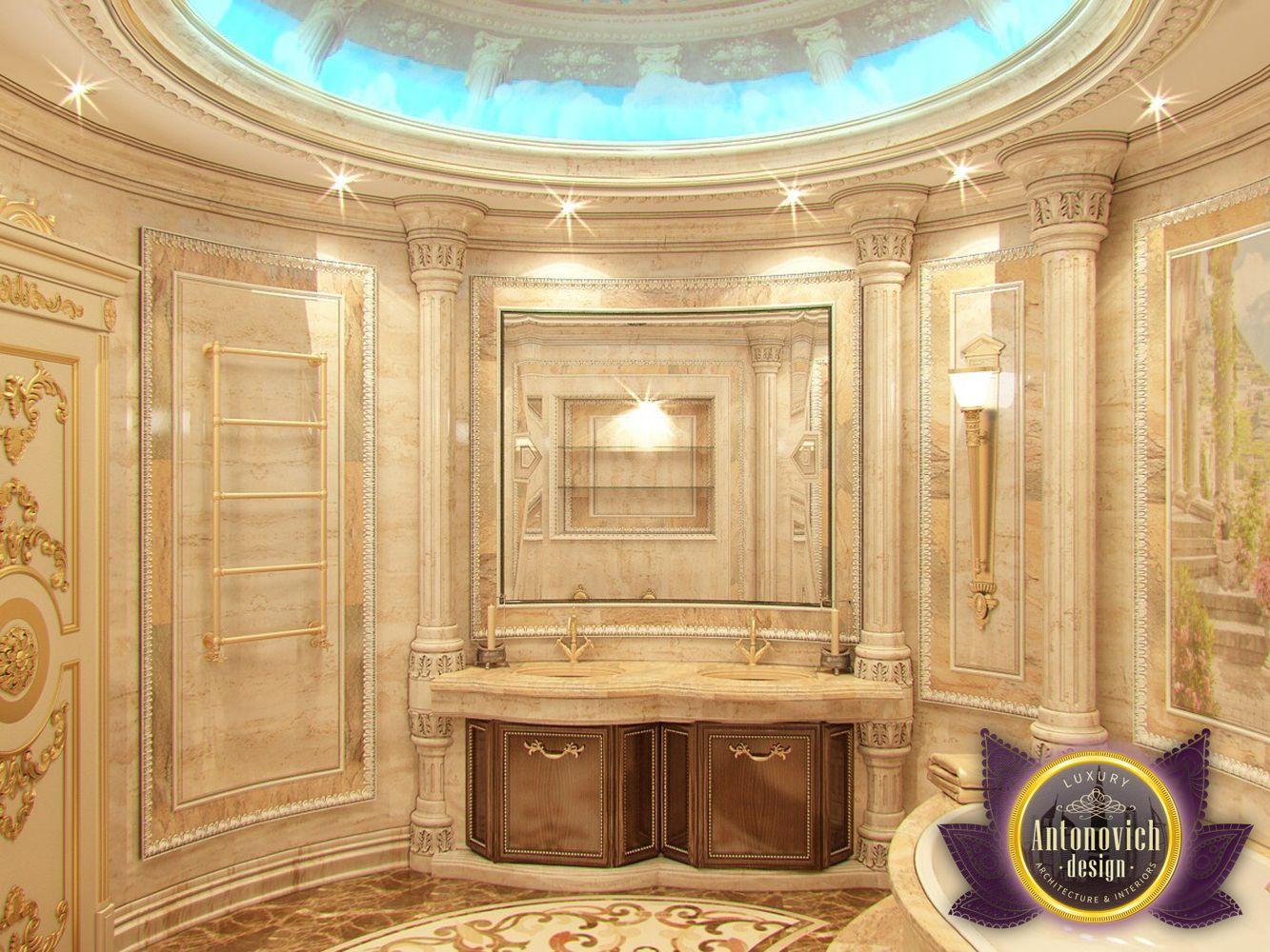 nigeiradesign Bathroom designs by Luxury Antonovich Design