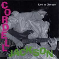 Portada de Live in Chicago de Cordell Jackson (1997)