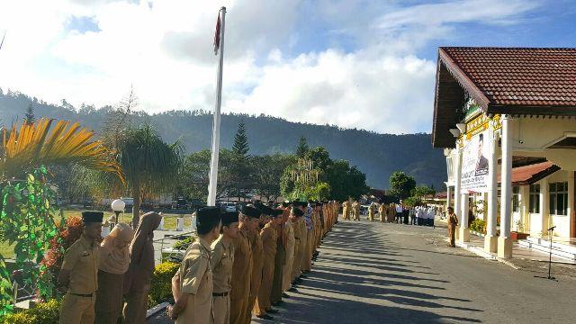 Plt. Bupati Aceh Tengah Tegaskan Netralitas ASN Menghadapi Pilkada 2017