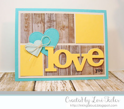 Love You card-designed by Lori Tecler/Inking Aloud-stamps from Winnie & Walter